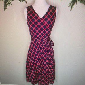 NEW 41 Hawthorne kassidy faux wrap dress sz L